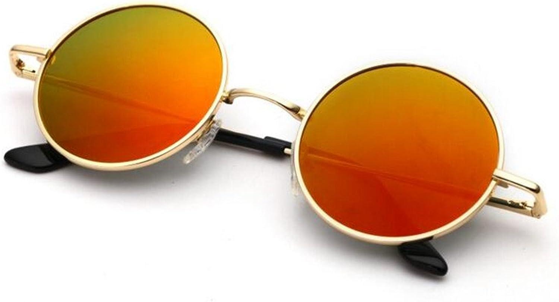 SUNGLASSES New Offset Optical Sunglasses Round Glasses RetroReflective Sunglasses colorful Sunglasses