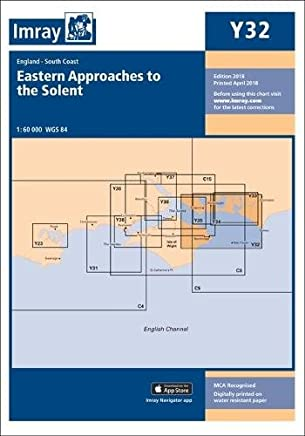 Imray Chart Y32 Laminated: Eastern Approach to the Solent