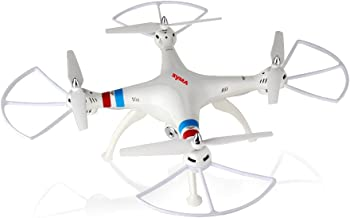 Syma X8C Venture 4-Channel 2.4GHz 6 Axis RC (Remote Control) Quadcopter with 2MP Camera white