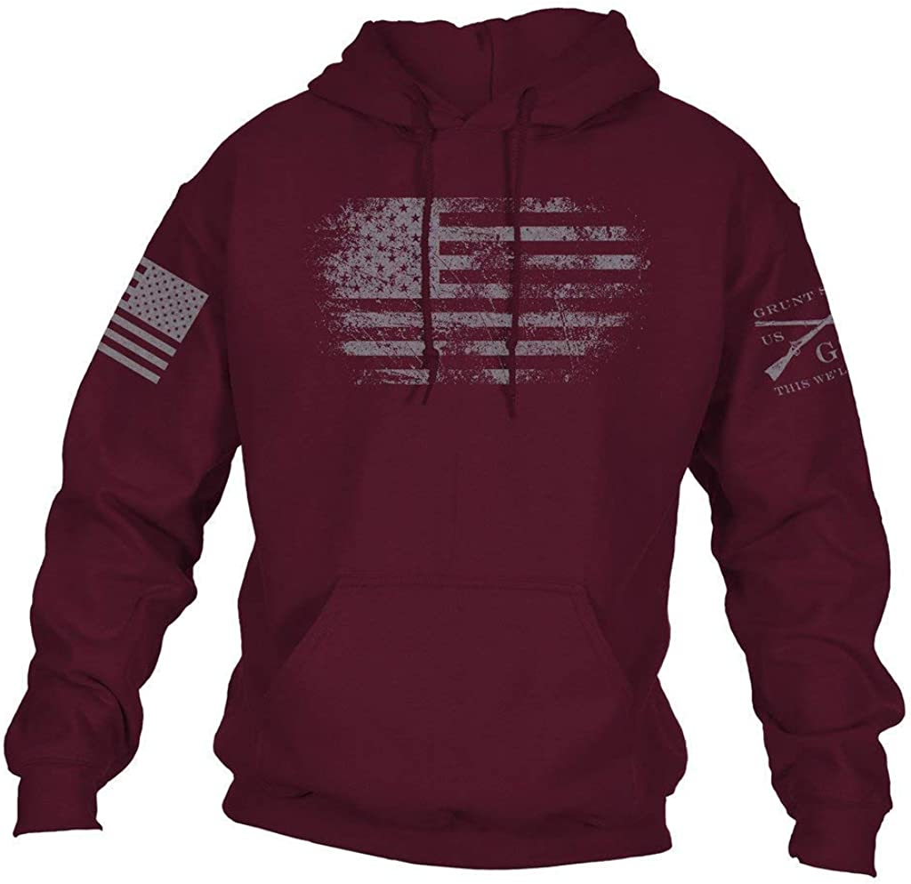 National products Grunt Style Vintage American 2.0 Max 88% OFF - Men's Hoodie