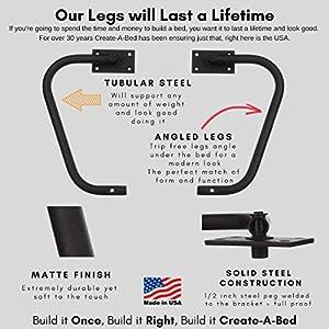 Full-Size Deluxe Murphy Bed Kit, Vertical