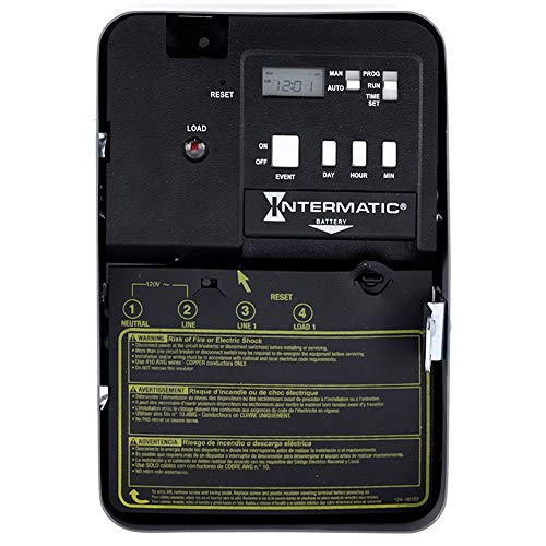 Intermatic EH10 120-Volt Electronic Water Heater Timer, Color
