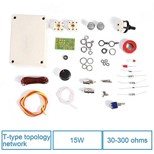 Tangxi Radio-Antennen-Tuner-Kit 1-30 MHz Q9 Radio-Transceiver-Antenne DIY-Handbuch Radio-Antenne QRP-Kit für hocheffiziente QRP-Kommunikation