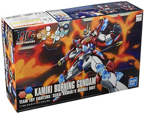 HGBF 1/144 Kamiki Burning Gundam Plastic Model