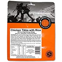 Expedition Foods Chicken Tikka with Rice (800kcal) - Freeze Dried Meal