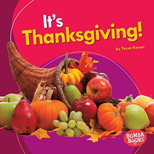 It's Thanksgiving! copertina