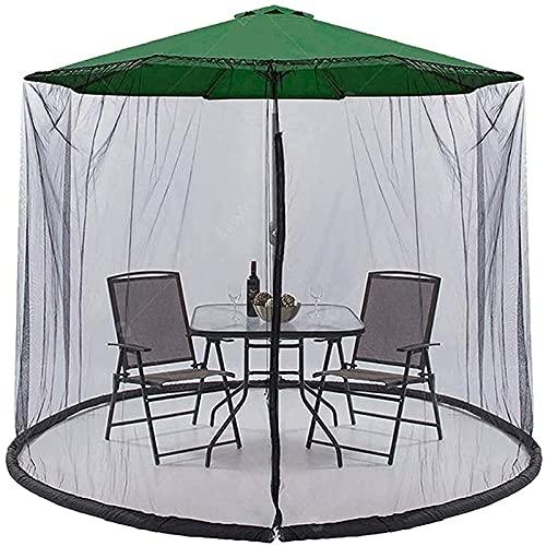 Mdlucz Pulsera de jardín al Aire Libre Trenzado Anti Mosquito Masheet Umbrella Cerrar Oficina Circular Mosquito Net