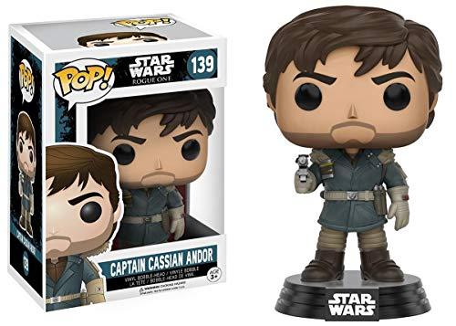 Funko Capitán Cassian Andor Figura de Vinilo, colección de Pop, seria Star Wars Rogue One (10452)