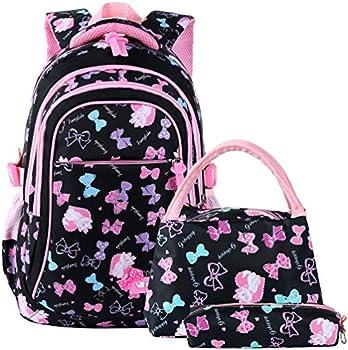 3-Pieces VBG VBIGER School Bags School Backpack