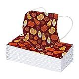 4 Capas 5/10/20/30/50 Piezas Adulto Impresión de color sólido de encaje elegante Protección Seguro Suave personal diaria Navidad para Actividades al Aire Libre Mujer Hombre Unisexo, al Aire Libre