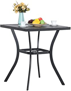 bar table height patio furniture