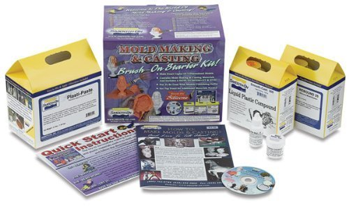 Smooth-On Moldmaking & Casting Pourable Starter Kit