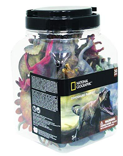 VALUVIC MONTEQUINTO, S.L. Cubo 30 Piezas Dinosaurios 20 Figuras y 10 Accesorios