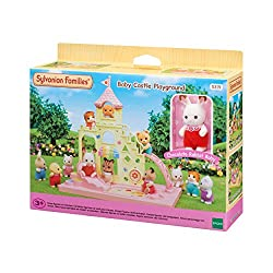Includes one figure: Chocolate Rabbit Baby Includes play equipment such as a slide and ladder The castle can be stacked on top of Baby Castle Nursery to play with as a set (sold separately) Stimulates imaginative role-playing by children Suitable for...