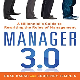Manager 3.0 audiobook cover art