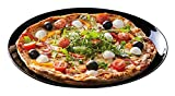 Luminarc Friends' Time - Plato para pizza, 32 cm, color negro