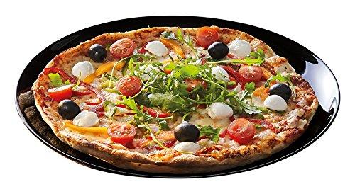 Luminarc Friends' Time - Plato para pizza, 32 cm, color negro