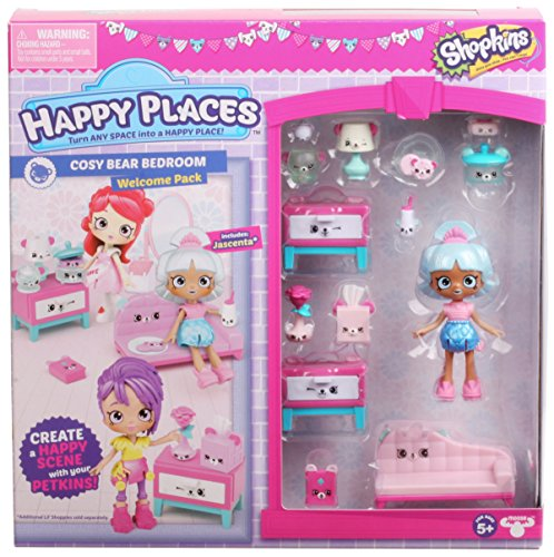 Shopkins Happy Places Season 3 Welcome Pack - Cosy Bear Bedroom