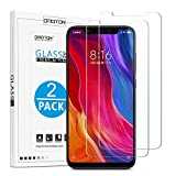 OMOTON [2 Pack] Xiaomi Mi 8 Screen Protector, Tempered