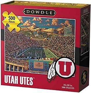 Dowdle Folk Art Utah Utes Jigsaw Puzzle