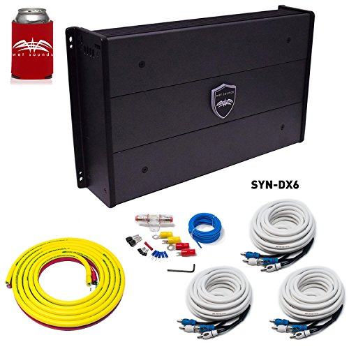 Best Review Of Wet Sounds SYN-DX 6 Full Range 6 Channel Amplifier & Stinger 3-Meter 4-Gauge Amplifie...