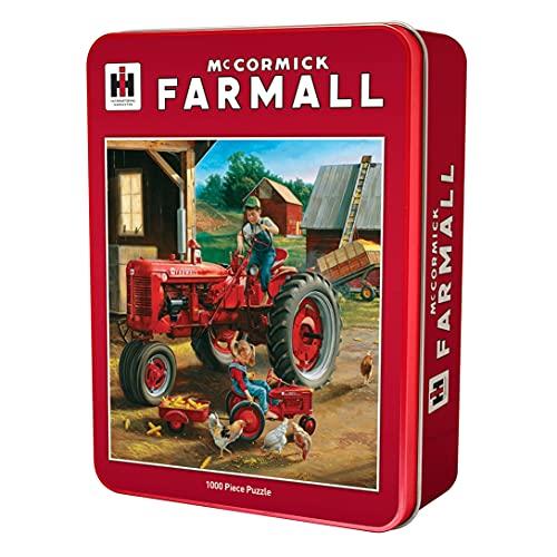MasterPieces Obras maestras Puzzle Company Funda/IH Farmall Amigos Jigsaw Puzzle