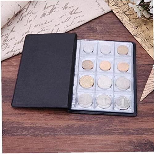 Zonster 10 Pagine in PVC Titolari Coin Album Tasche di Denaro Album Raccolta Libro