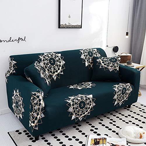 PPMP Fundas de Spandex para sofá para Sala de Estar, Funda elástica para sofá, Fundas para sillón, Protector de Muebles A13, 3 plazas