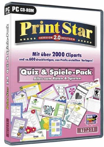 Printstar 2.0 - Quiz+Spiele Pack