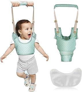 Arnés para Caminar Bebés 3 en 1 Arnes de Seguridad para Niños Infantil Halter Cinturón Anticaída Ajustable con Entrepierna...