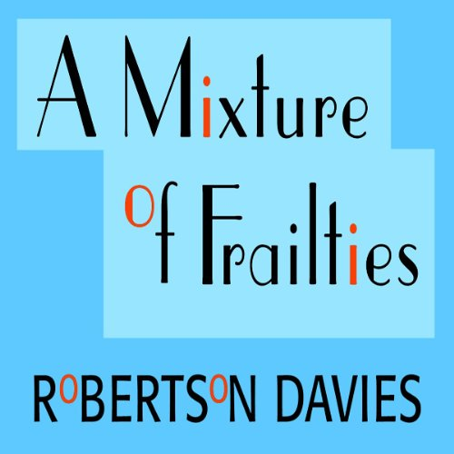A Mixture of Frailties audiobook cover art