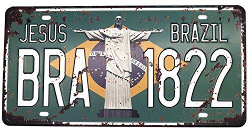 Placa Vintage  marca UOOPAI