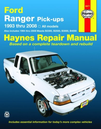 Ford Ranger Pick-ups, 1993-2008 (Haynes Repair Manual)