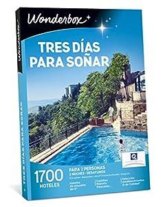 WONDERBOX Caja Regalo para papá - Tres DÍAS para SOÑAR - 1.700 hoteles para Dos Personas