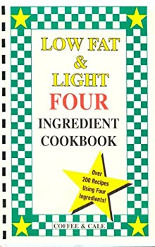 Plastic Comb Low Fat & Light Four Ingredient Cookbook (Vol. III) Book