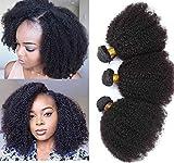 Mongolian Afro Kinky Curly Bundles Human Hair...