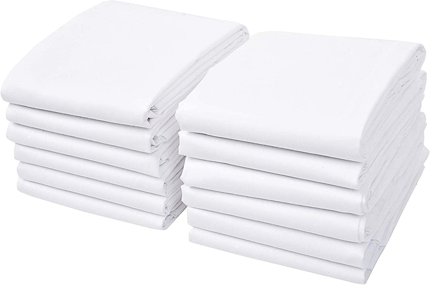 Linteum Textile White Cotton Pillowcases T- Standard Set – 毎日激安特売で 営業中です 驚きの値段 Size