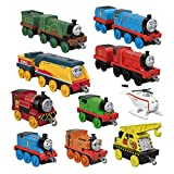 Thomas & Friends TrackMaster Push Along Metal Sodor Steamies 10 Pack Train Engines