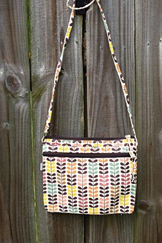Retro Fabric Cotton Canvas Cross Body Purse Messenger Bag (norway)