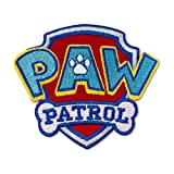 PAW Patrol Logo Embroidered Patch Iron On (Size: 3.3' x 2.9')