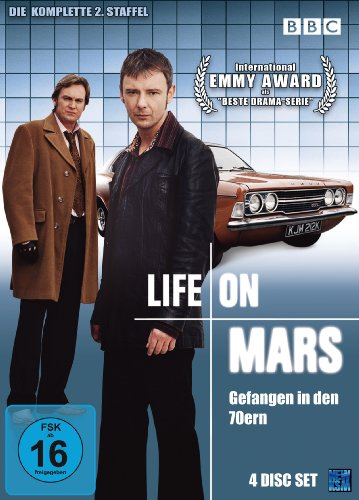 Life On Mars - Gefangen in den 70ern - Season 2 (4 DVDs)