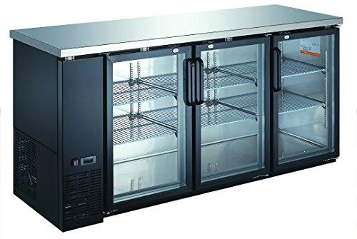 Xiltek XBB-24-72G Glass Door Back Bar Cooler New