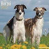 海外輸入版 2022年ドッグカレンダー ボルゾイ