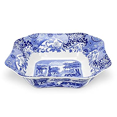 Spode Blue Italian Square Serving Bowl