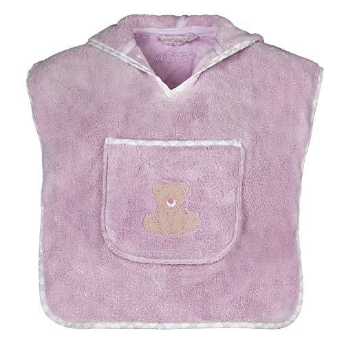 Vossen Baby & Kleinkind Teddy Kinderponcho Lavender, one Size