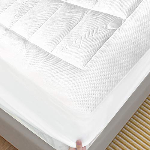 ENITYA Bamboo Mattress Pad California King Size...