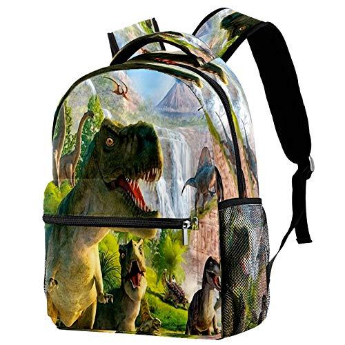 Mochila escolar de ciervo, mochila para libros, informal, para viajes, estampado 8 (Multicolor) - bbackpacks004