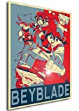 Instabuy Poster - Propaganda - Beyblade - Characters A3