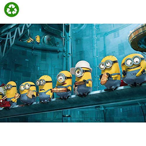 Puzzles PT Minions Rompecabezas de Madera 1000 Piezas de descompresión for Adultos Eanime Ducational Toys (Color : E)