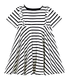 Petit Bateau MC_4960301, Robe Fille, Multicolore (Coquille/Smoking 01), 98 (Taille fabricant: 3ans/95centimeters)
